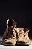 Oude laarzen Stock Foto's