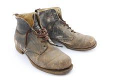 Oude Laarzen Stock Afbeelding