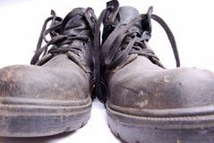 Oude laarzen. Royalty-vrije Stock Fotografie