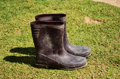 Oude laarzen 02 Stock Fotografie
