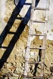 Oude ladder Royalty-vrije Stock Fotografie