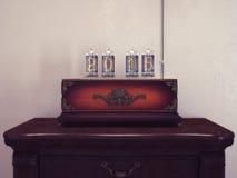 Oude lampen het aantal van retro Royalty-vrije Stock Afbeeldingen