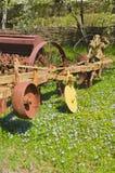 Oude landbouwapparatuur Stock Fotografie