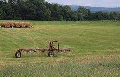 Oude landbouwbedrijfapparatuur Royalty-vrije Stock Afbeeldingen