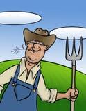 Oude Landbouwer Stock Afbeelding