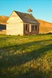 Oude Landelijke Kerk stock afbeelding
