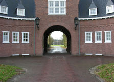 Oude landhouse stock foto's
