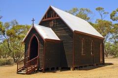 Oude landkerk Stock Afbeelding