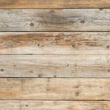 Oude langzaam verdwenen saaie pijnboom vlakke natuurlijke houten vierkante textuur als achtergrond vlak Royalty-vrije Stock Foto