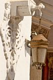 Oude lantaarn Royalty-vrije Stock Fotografie