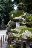 Oude lantaarn in de heiligdommen Royalty-vrije Stock Afbeeldingen