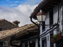 Oude lantaarn in Spanje royalty-vrije stock fotografie