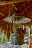 Oude lantaarns, Thaise mensen royalty-vrije stock foto