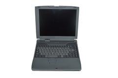 Oude Laptop Computer Royalty-vrije Stock Afbeeldingen