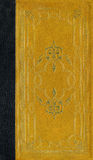 Oude leertextuur met decoratief frame Stock Afbeeldingen