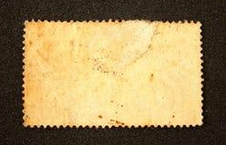 Oude lege postzegel stock afbeelding