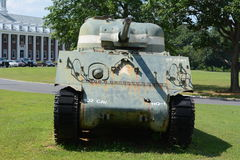 Oude legertank Royalty-vrije Stock Afbeelding