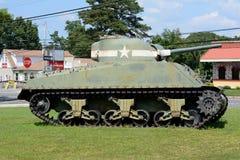 Oude legertank Royalty-vrije Stock Fotografie