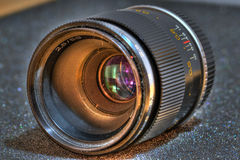 Oude lens Stock Foto's