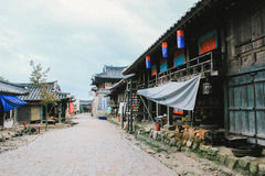 Oude levensstijl in Korea Stock Afbeeldingen