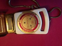 Oude lichte meter Royalty-vrije Stock Foto
