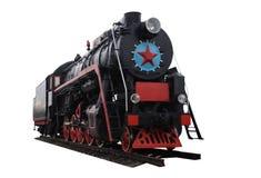 Oude locomotief stock foto's