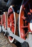 Oude locomotief Stock Afbeeldingen