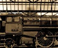 Oude Locomotief stock foto