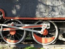 Oude Locomotief Stock Fotografie