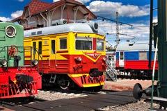 Oude locomotieven Royalty-vrije Stock Foto's