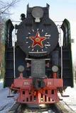 Oude lokomotive royalty-vrije stock fotografie