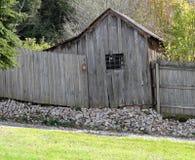 Oude Loods op Heuvel Royalty-vrije Stock Fotografie