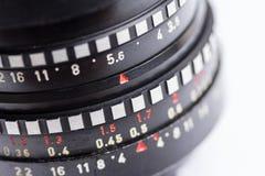 Oude m42 lens stock afbeeldingen
