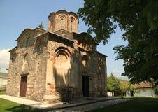 Oude Macedonische Orthodoxe Kerk stock foto
