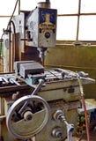 Oude machinecontroles stock fotografie