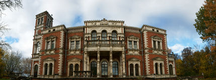 Oude manor in Rusland. Stock Afbeelding