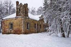 Oude manor in Suhanovo Royalty-vrije Stock Afbeeldingen