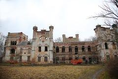 Oude manor van de 19de eeuw Stock Foto's