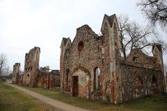Oude manor van de 19de eeuw Royalty-vrije Stock Foto's