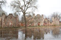 Oude manor van de 19de eeuw Stock Fotografie