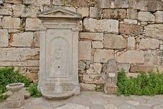 Oude Marmeren Fontein Royalty-vrije Stock Foto's