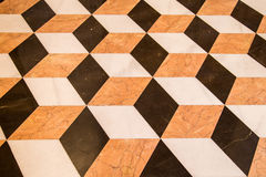 Oude marmeren vloer Royalty-vrije Stock Afbeeldingen
