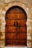 Oude Marokkaanse Deur Royalty-vrije Stock Foto's
