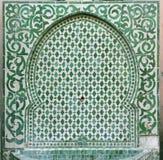 Oude Marokkaanse fontein Stock Fotografie