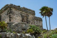 Oude Mayan ruïnes Royalty-vrije Stock Fotografie