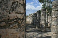 Oude Mayan ruïnes Chichen Itza Royalty-vrije Stock Foto