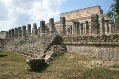 Oude Mayan ruïnes Chichen Itza Stock Afbeelding
