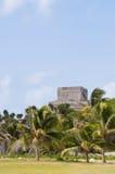 Oude mayan ruïnes in Tulum, Mexico Royalty-vrije Stock Afbeelding