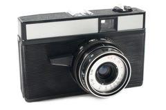 Oude mechanische SLR Royalty-vrije Stock Foto's