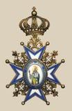 Oude Medaille Royalty-vrije Stock Fotografie